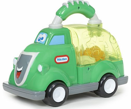 Push Rey Recycler along and watch this Little Tikes Vehicle pop! Reyandrsquo;s a Pop Hauler so is filled with bouncing pieces that move about when heandrsquo;s pushed along. Heandrsquo;s also got a big, chunky handle which is easy for little ones to  - CLICK FOR MORE INFORMATION