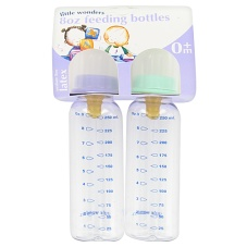 8oz Feeding Bottles x 2
