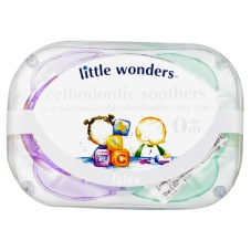 Orthodontic Soothers Latex 0m
