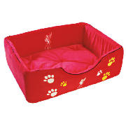 Liverpool large pet bed This pet bed features a Liverpool FC design