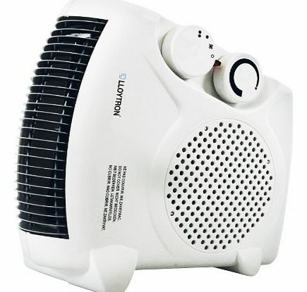 2000w British Standard BEAB Approved Fan Heater with 2 Heat Settings & Cool Blow F2003WH