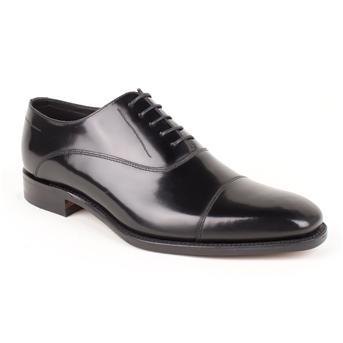 Loake Harrison Designer Shoe Black