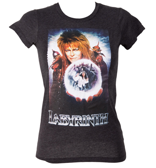 Ladies Jareth The Goblin King Labyrinth T-Shirt