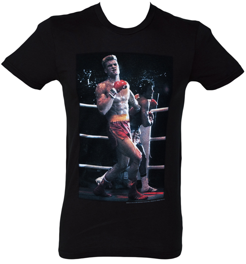Local Celebrity Mens Photo Drago vs Rocky T-Shirt from product image
