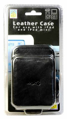 3 iPod Leather Case (IP122)