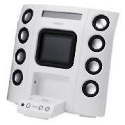 Logic3 IP-108 i-Station8 Speakers (White)