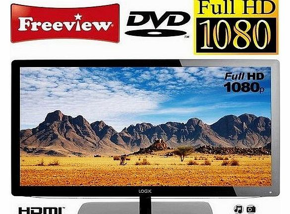 L24FED12 24`` Full HD 1080p LED TV with Freeview, DVD Player, HDMI