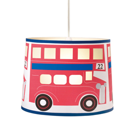 London bus ceiling light shade