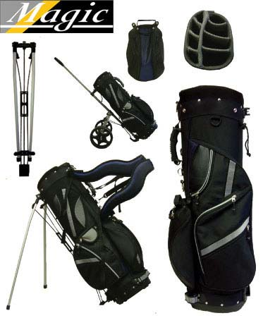 4 in 1 Magic Trolley/Stand Golf Bag