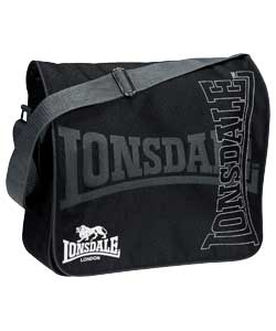 Lonsdale Messenger Bags - informed is forearmed