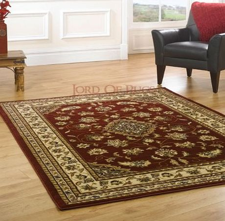 Lord of Rugs Quality Traditional Rugs Red rug carpet 60 x 110 cm (2 x 37``) Sherborne product image