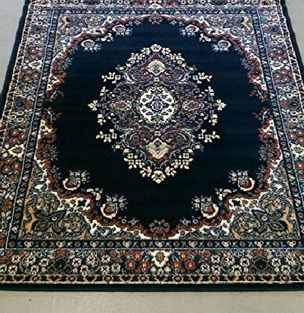 Lord of Rugs Very Large New Traditional Navy Rug carpet 280 x 365 cm (92`` x 12) product image