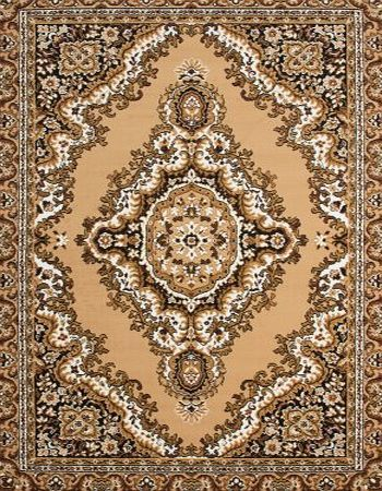 Lord of Rugs XLarge Oriental Traditional Beige Brown Area Rug in 240 x 330 cm (8 x 1010) Carpet product image