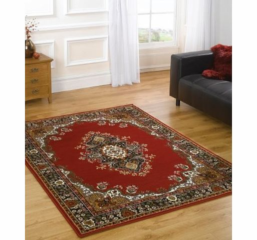 Lord of Rugs XLarge Traditional Classic Design Burgundy Rug in 180 x 250 cm (511 x 82) Carpet product image