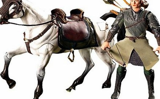 Lord of the Rings Legolas and Arod Lord of the Rings horse and rider action figure set