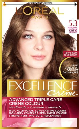 L`Oreal, 2102[^]0100869 Excellence Golden Brown 5.3