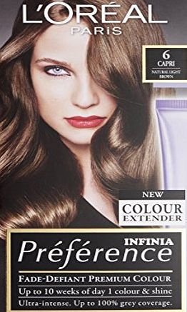 LOreal Paris Preference Infinia 6 Capri Natural Light Brown