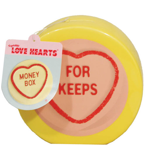 LOVE Hearts For Keeps Ceramic Money Box product image