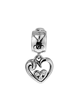 Lovelinks Silver and Murano Glass Mothers Day
