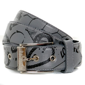 Lowlife Punk Filled Belt - grey product image