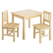 Loxley Pine Play Table And 2 Chairs product image