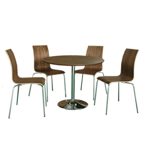 walnut dining furniture dining room sets : lpd limited lpd soho walnut round dining set from www.comparestoreprices.co.uk size 500 x 500 jpeg 21kB