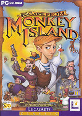 Lucas arts Escape From Monkey Island PC