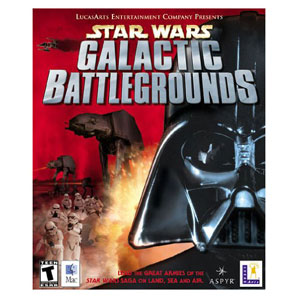 Lucas arts Star Wars Galactic Battle Grounds (PC)