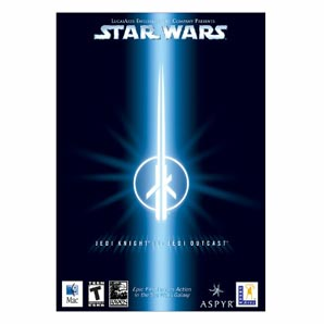 Lucas arts Star Wars Jedi Knight II Jedi Outcast Mac PC