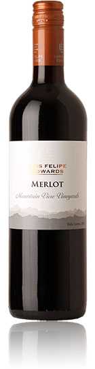 Felipe Edwards Mountain View Merlot 2011,