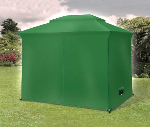 this polyester cover comes with a carry case and is designed to fit