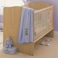 LXDirect oak-effect finish nursery furniture product image