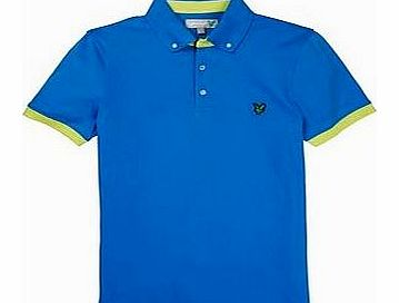 Lyle and Scott Mens Button Down Collar Polo