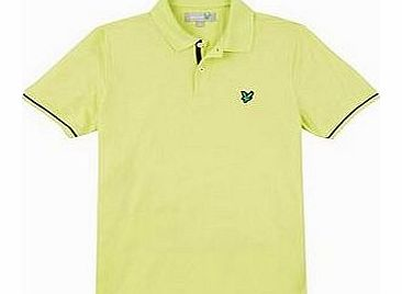 Lyle and Scott Mens Dri Release Tipped Polo