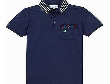 Lyle and Scott Mens Striped Collar Polo Shirt 2014