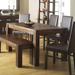 walnut small dining table 6 standard