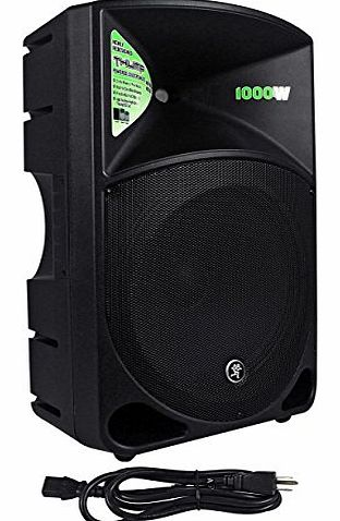 Mackie THUMP15 1000 Watt 15`` Active/Powered Pro Audio/DJ Speaker - Lightweight Portable Design product image