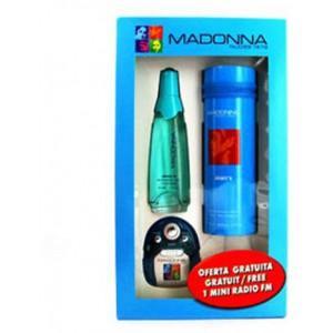 Madonna NUDES Jeans 50ml EDT Spray With FM Radio Gift Set
