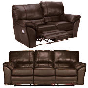 Large & Regular Leather Recliner Sofas,