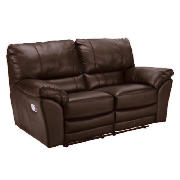 Leather Recliner Sofa, Brown