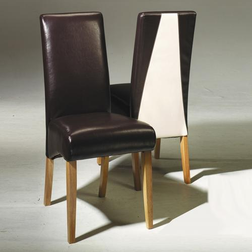 Madrid Oak Dining Chairs x2
