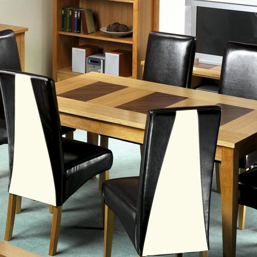 Madrid Oak Dining Set (5`Table 4 Chairs)