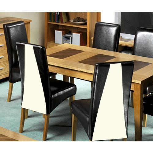 Madrid Oak Dining Set (6 Table 6 Chairs)