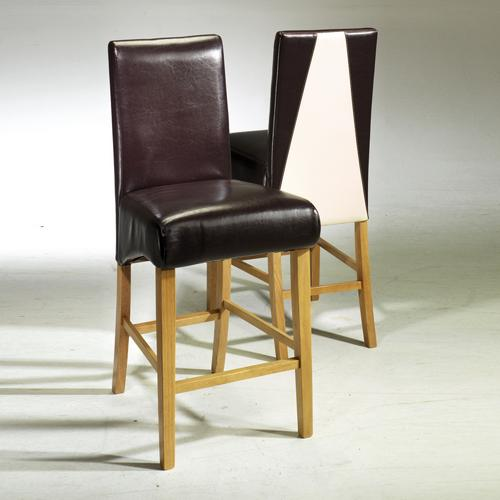 Madrid Oak Pub Chairs x2