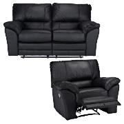 Regular Leather Recliner Sofa & Armchair,