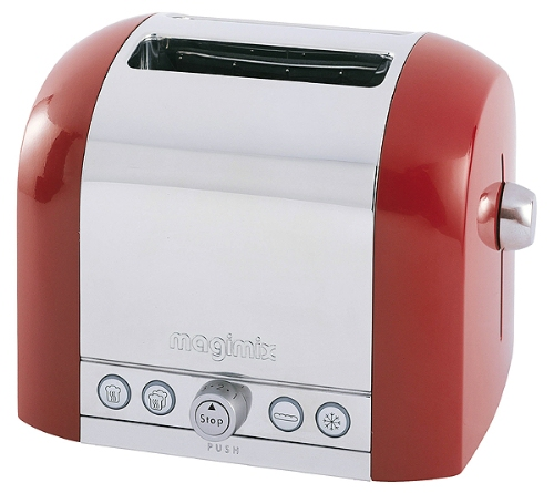 Magimix Le Toaster 2 slot professional red product image