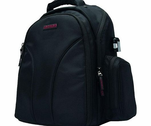 Magma Digi Backpack for DJ Equipment - Black/Red product image