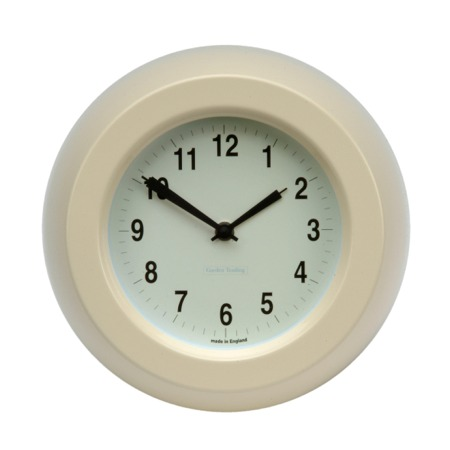 Maison Blue Cream Retro Kitchen Clock