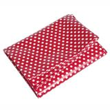 Red with White Spot Design Plasticised Table Cloth Size 184cm x 122cm Part of the red spotty range, Aprons, Tea Towels, Bags, Oven Gloves and more - CLICK FOR MORE INFORMATION