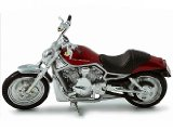 Die-cast Model Harley Davidson V-Rod VRSCA (2004) (1:18 scale in Red)